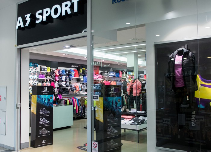 360aeb71fe V predajni A3 SPORT nájdete značky  Adidas